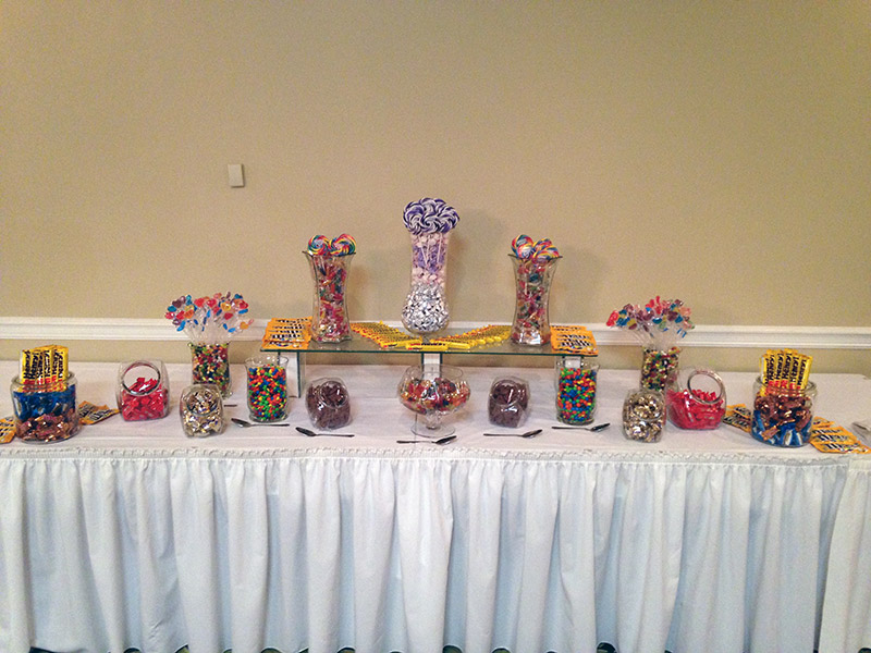 candy buffet candy catering